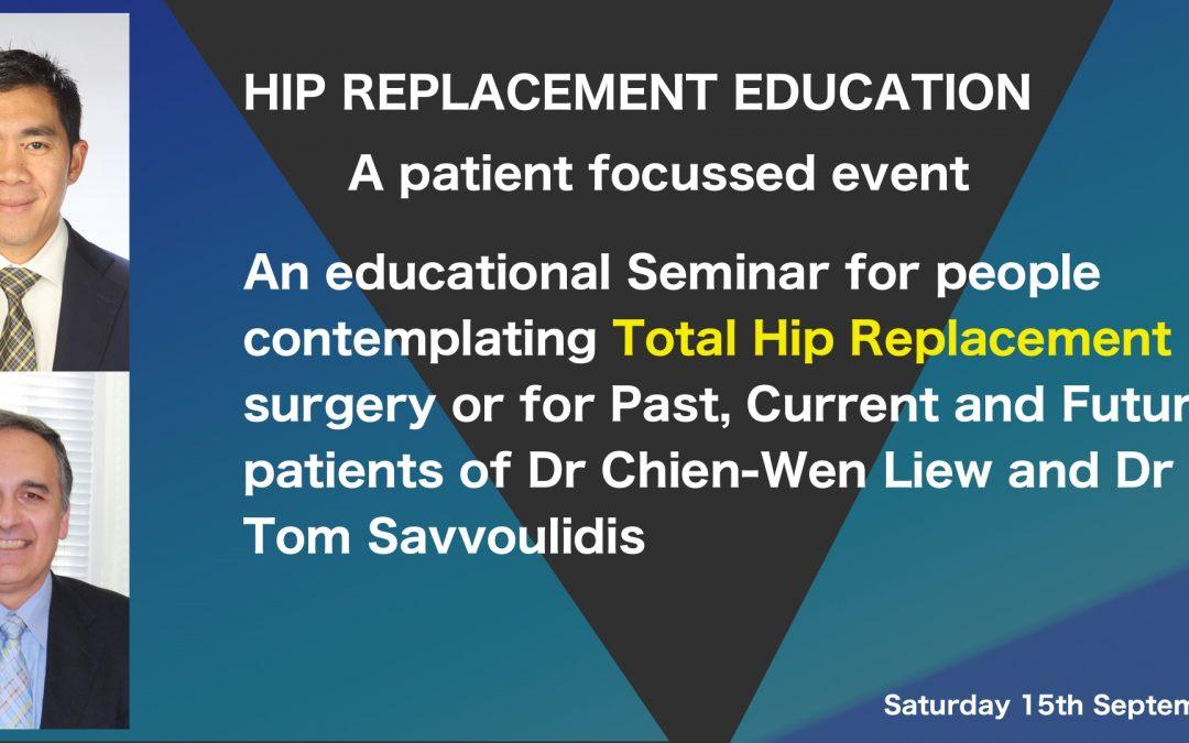 Total Hip Replacement Seminar