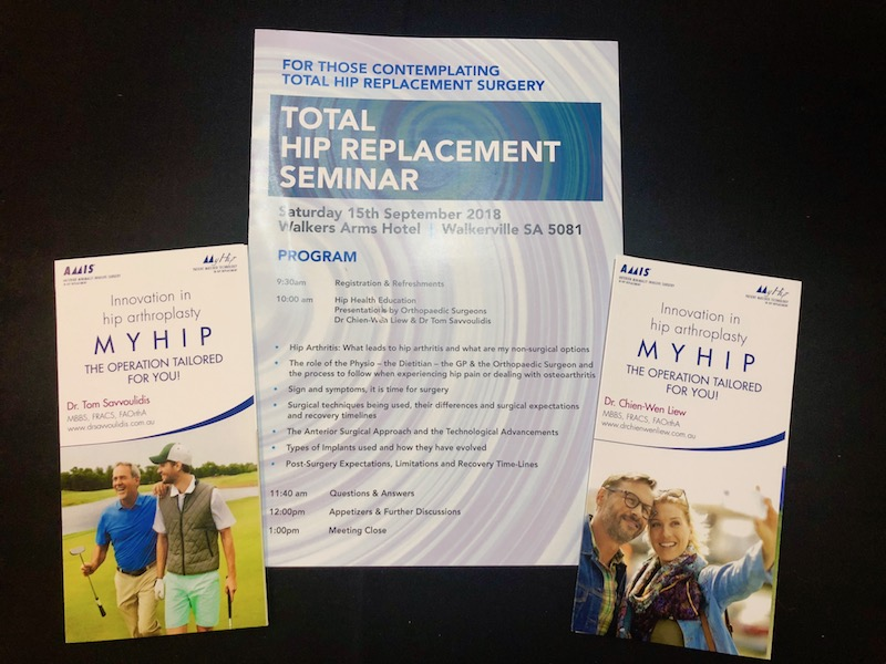 Adelaide Total Hip Replacement Seminar – Great Turn out